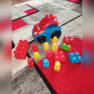 Samochodzik z klockami Mega Bloks