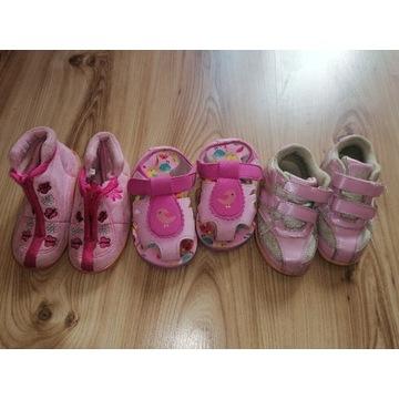 Buty dla dziewczynki 23 adidasy sandały