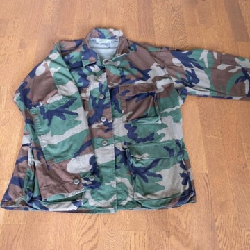 Bluza US Army BDU Woodland Medium Short