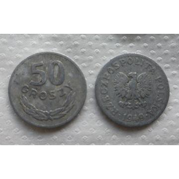 50gr Monety z PRL-u 1949