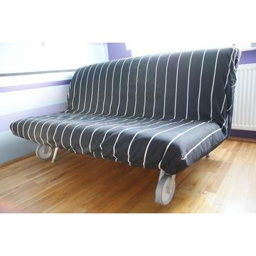 sofa rozkładana łóżko Ikea Murbo Lovas Havet Levos