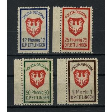 1945  Ettlingen poczta międzyobozowa