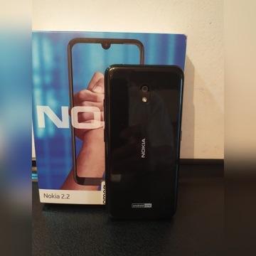Nieużywany Smartfon Nokia 2.2 Dual Sim 2/16GB