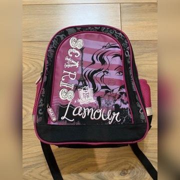 Plecak Monster High dziewczęcy 3 przegrody
