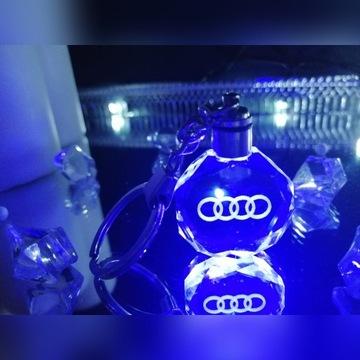 Breloczek AUDI LED