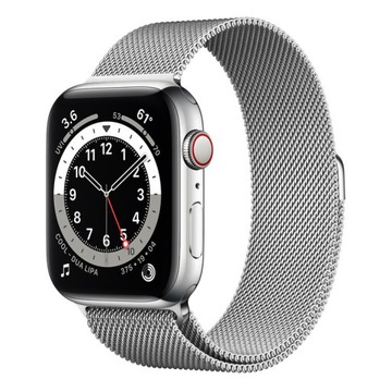 Apple Watch 6 40mm silverv stalniess