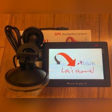 Nawigacja Lark Freebird 43.1 - uszkodzona