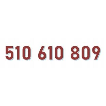 510 610 809 ORANGE ŁATWY ZŁOTY NUMER starter