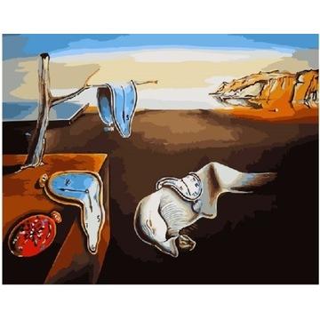 MALOWANIA PO NUMERACH Dalí Trwałość pamięci 40X50