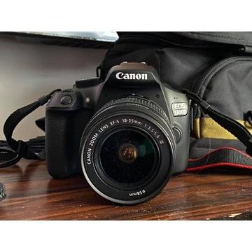 JAK NOWA Lustrzanka Canon EOS 1300D +18-55mm IS II