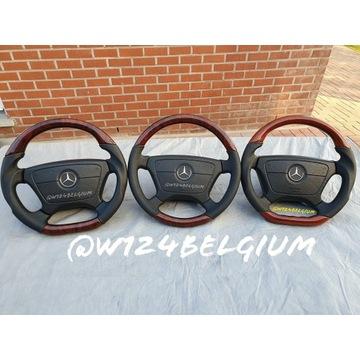Drewno kierownica Mercedes W126 W124 R129 R107