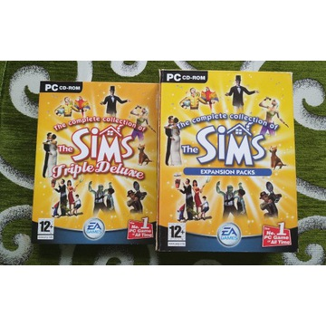The complete collection of The Sims (12 płyt CD!)