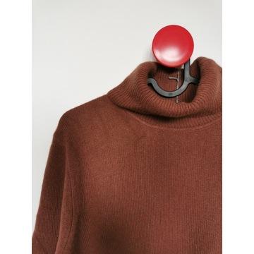 Sweter, golf kaszmirowy ESISTO XXL, NOWY