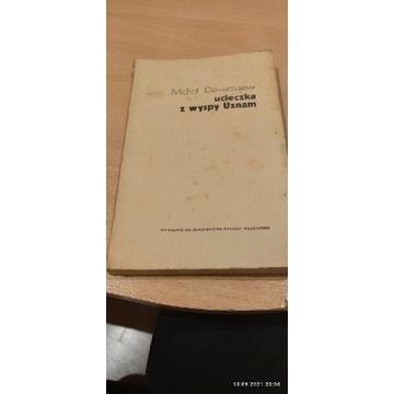 Książka Ucieczka z wyspy uznam.