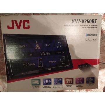 JVC KW-V250BT Odtwarzacz DVD/CD/USB z 6.8-calowym