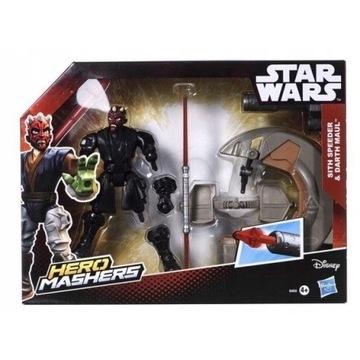 STAR WARS HERO MASHERS SITH Speeder Darth Maul