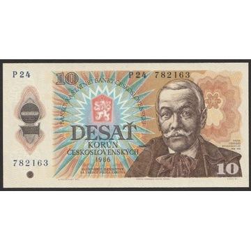 Czechosłowacja 10 koron 1986 - Orszagh - stan UNC