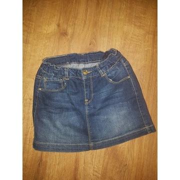 Zara spódniczka jeansowa 11-12/152