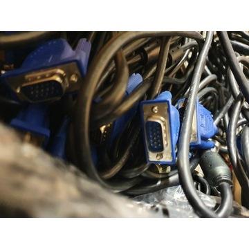 120 kabli VGA D-SUB M/M męsko-męski 150cm 1,5m FHD