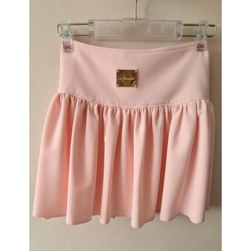 Rozkloszowana spódniczka mini L/XL różowa