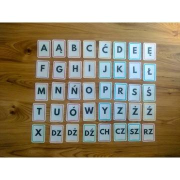 Plansze edukacyjne dla dzieci - Alfabet
