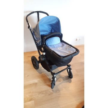 Wózek Boogaboo 3:gondola, spacerówka, fotelik
