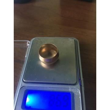 ZŁOTA OBRĄCZKA PRÓBA 585 8,69 gram