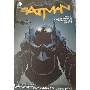 Batman tom 4 rok zerowy- tajemnicze miasto