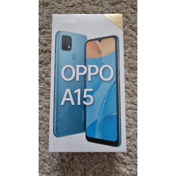 OPPO A15 - nowy! Polecam