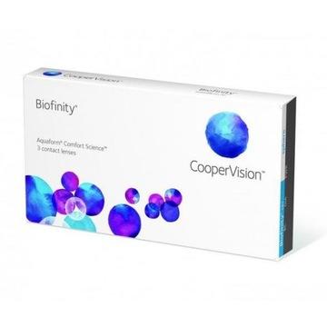 Biofinity 3 sztuki CooperVision