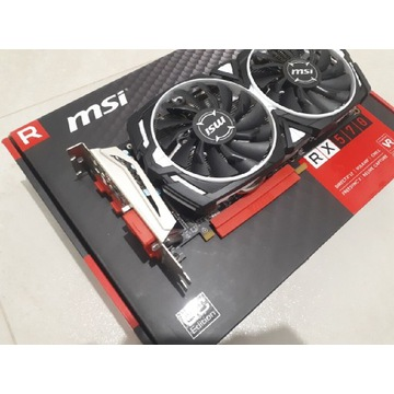 Rx 570 MSI OC 4gb