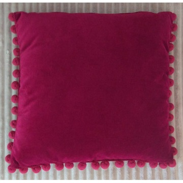 Poduszka dekoracyjna aksamit, 40 Produkt PL Nowa