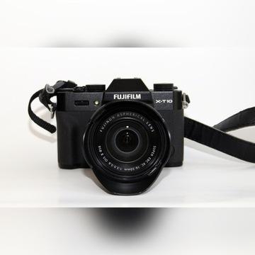 Fuji Film X-T10 z Fujinon  EBC XC 16-50 1:3,5-56