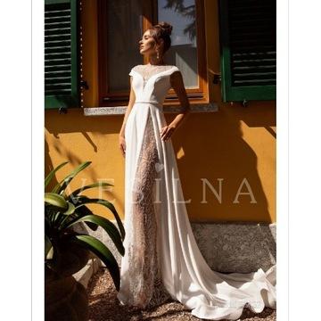 Suknia ślubna vesilna nowa r.42-44
