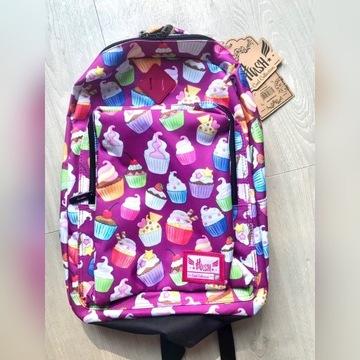 Plecak szkolny lub wycieczkowy myHash muffiny