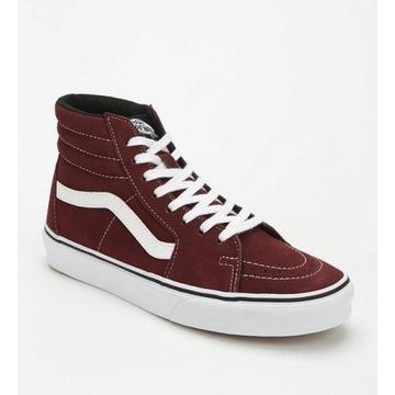 Vans Sk8-Hi High-Top Sneaker, zamsz, 34.5!Nowe!