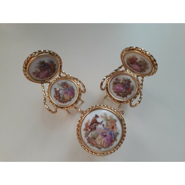 Miniaturowe mebelki Limoges France