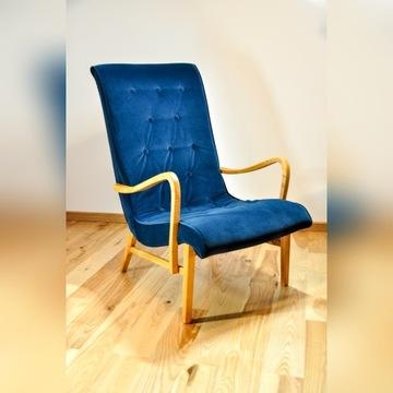 Fotel lata 60 odnowiony od podstaw