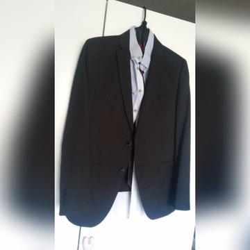 Garnitur H&M na 170 cm marynarka spodnie koszula