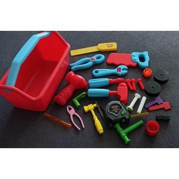 zestaw małego mechanika - narzędzia / warsztat