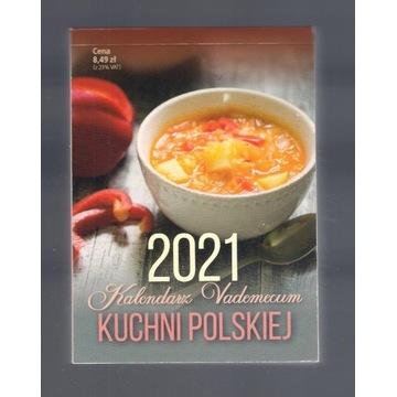 Kalendarz Vademecum Kuchni Polskiej 2021