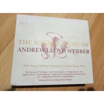 The magic music of Andrew Lloyd Webber 3 CD