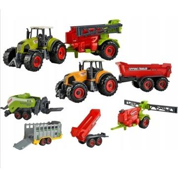 Traktory Rolnicze Zestaw Traktor  FARMA licytacja