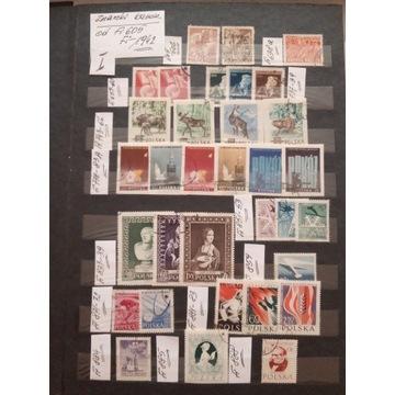 Fi 605-1942 kas. zbiór znaczków i serii