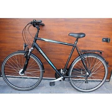 Rower PEGASUS aluminiowy czarny trekkingowy męski