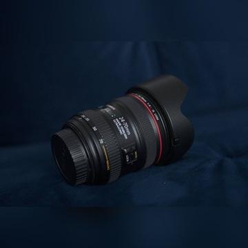 Canon EF L 24-70 f4 IS USM - idealny, komplet
