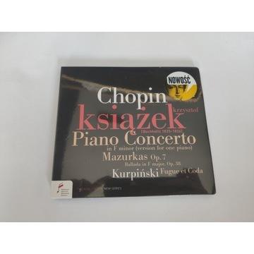 Płyta CD Chopin Krzysztof Książek Piano Concerto