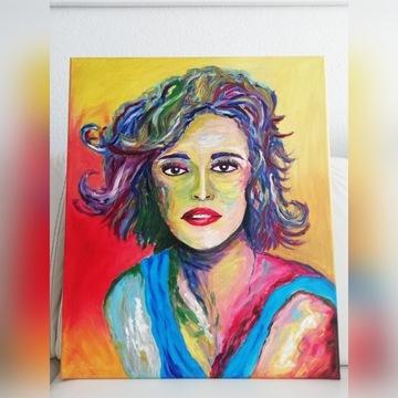 Obraz olejny 60x50 cm bcm