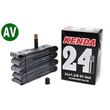 """Dętka Kenda 24"""" 1 3/8 AV box"""