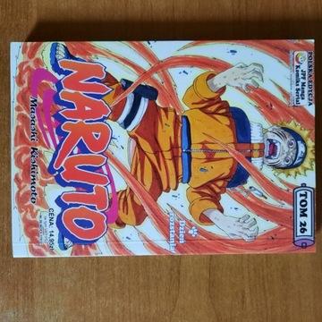 Naruto manga tom 26